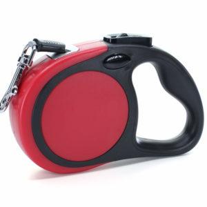 Vsepropejska Rudo samonavíjecí vodítko pro psa Barva: Červená